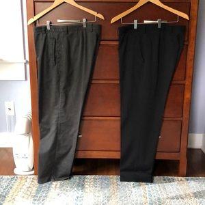 Set of two dress slacks